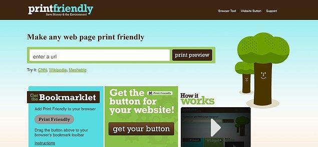 10. Printfriendly.com