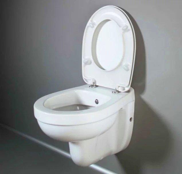 2. Kadınların tuvalete girdiklerinde sıklıkla karşılaşacakları manzara bellidir.