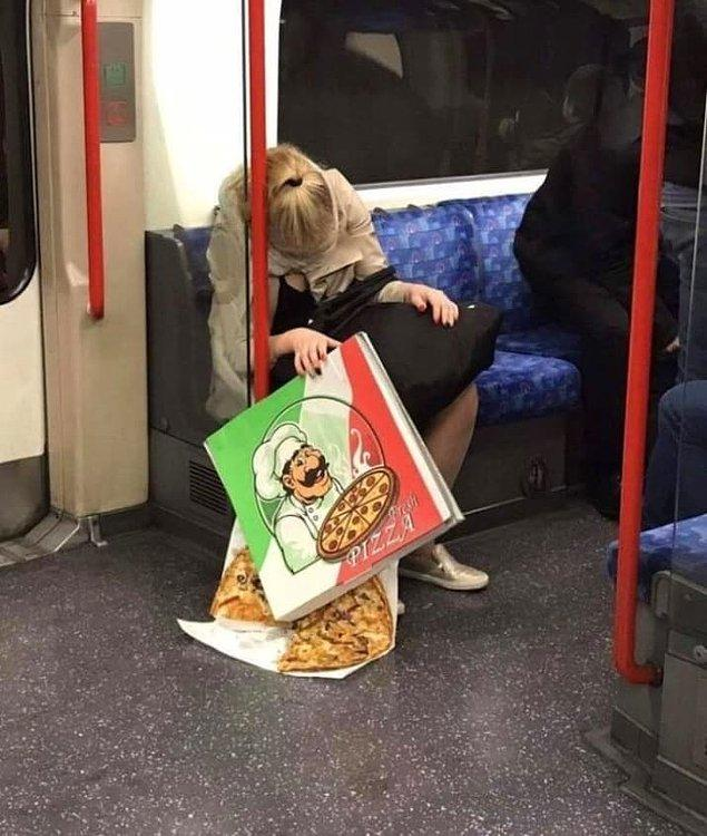 3. Güzelim pizzaya yapılır mı bu? 😖
