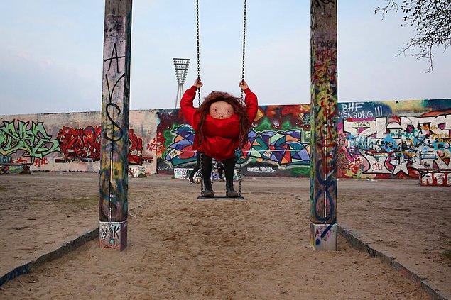 Berlin; Pazar Günleri Mauerpark'ta Atılan Akşamdan Kalmışlık Durumu