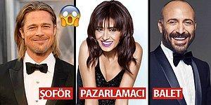 Halit Ergenç Balet, Brad Pitt Şoför! Ünlülerin Meşhur Olmadan Önceki Şaşırtan Meslekleri