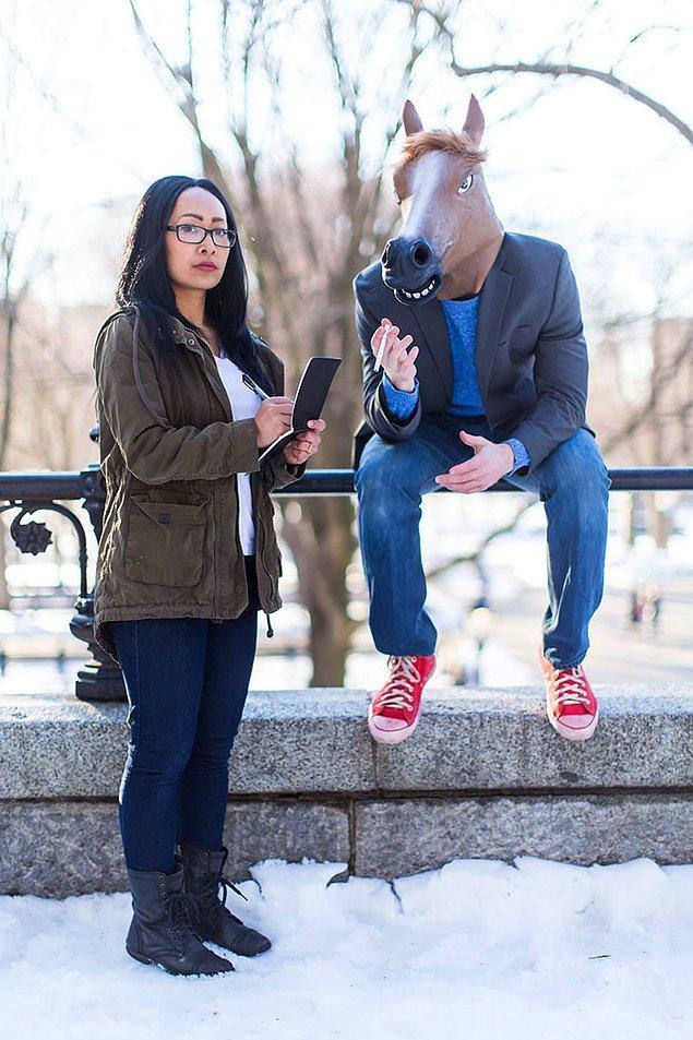 """""""BoJack Horseman""""den BoJack Horseman ve Diane Nguyen"""