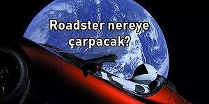 Elon Musk'ın Uzaya Fırlattığı Arabası 'Tesla Roadster' Dünyaya Geri mi Çarpacak?