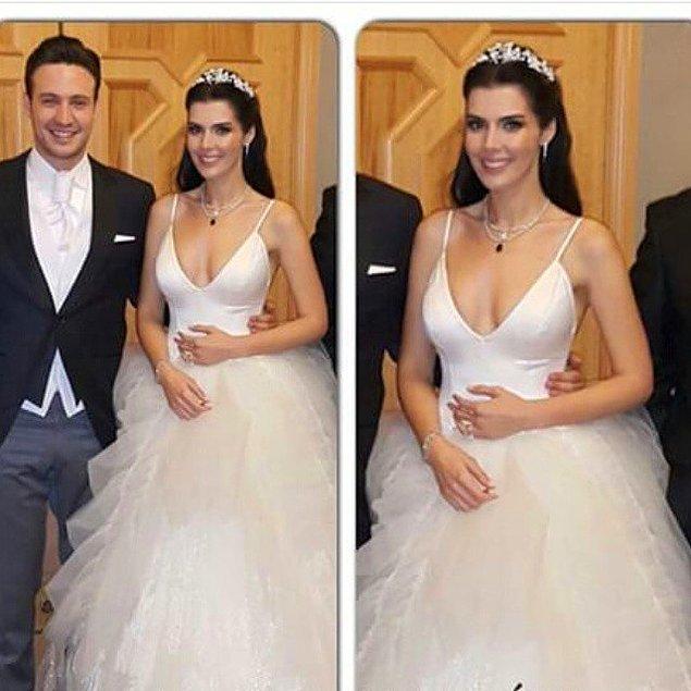 Hatice Şendil kendisi gibi oyuncu olan sevgilisi Burak Sağyaşar ile 2015 yılında evlenmişti.