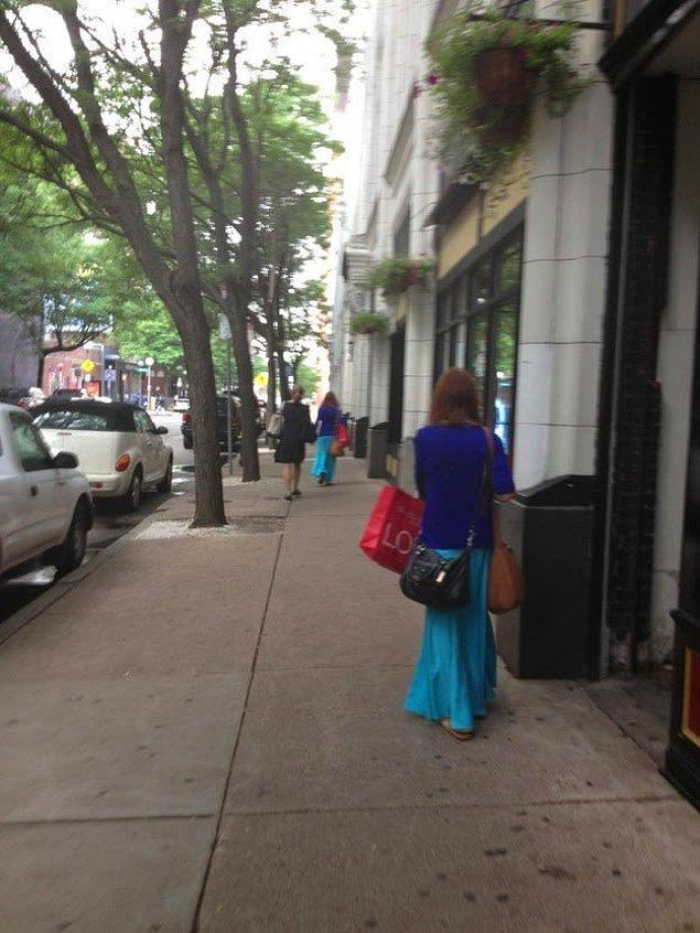 Hala ikna olmadınız mı? Bakın bu sokakta aynı kadından 2 tane var. Modellemelerin kısıtlı olduğunu söylemek mümkün.