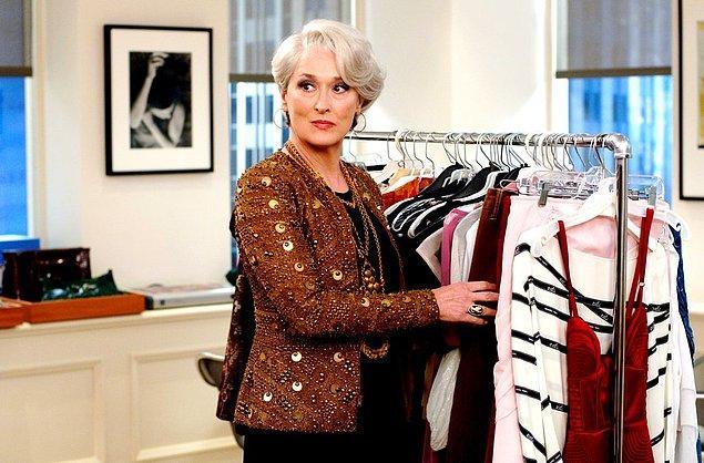 14. Şeytan Marka Giyer filmiyle modanın cazgır yüzünü çatır çatır beyaz perdeye aktaran Meryl Streep, bir Oscar adaylığı daha kazanarak 2007 yılında on dördüncü kez törene adım atmıştı.