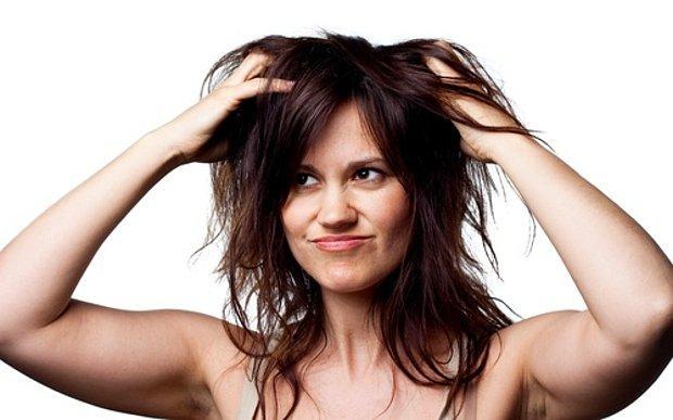 Saçım çok yıprandı :(