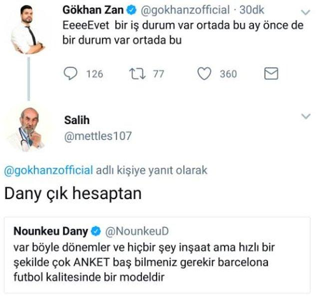 Gökhan Zan vs Dany.
