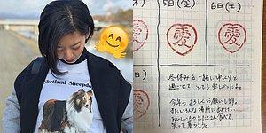 Öfke Problemine Harika Çözüm! Sinirlenmediği Her Gün İçin Takvimine Minnoş Notlar Düşen Japon Kadın