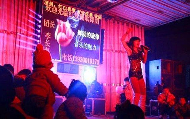 Aslında bu Çin'in özellikle kırsal kesimlerinde oldukça popüler bir durum.