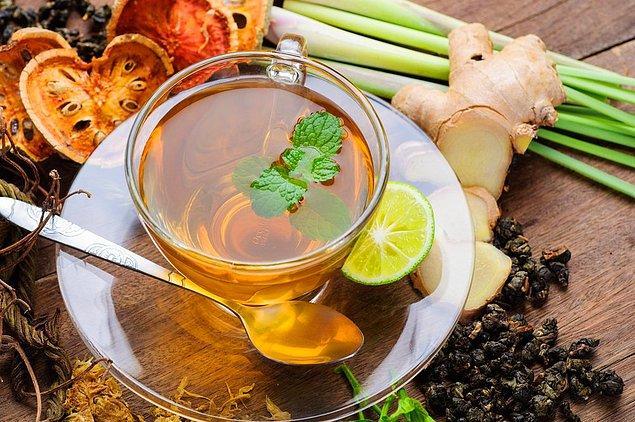 3. Bitki çayı tüketin.