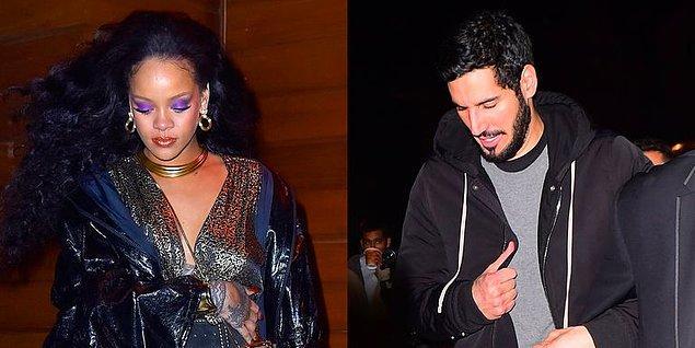 Bazı kaynaklara göre; Rihanna'nın bir dönem sevgilisi olduğu söylenen milyarder Hassan Jameel de geceye katılan davetliler arasındaydı.