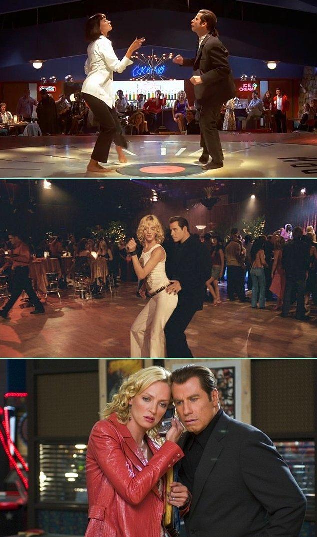 5. Uma Thurman & John Travolta