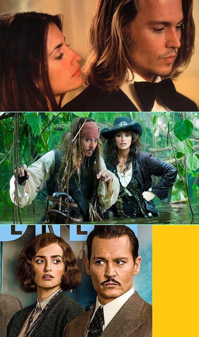 6. Johnny Depp & Penelope Cruz