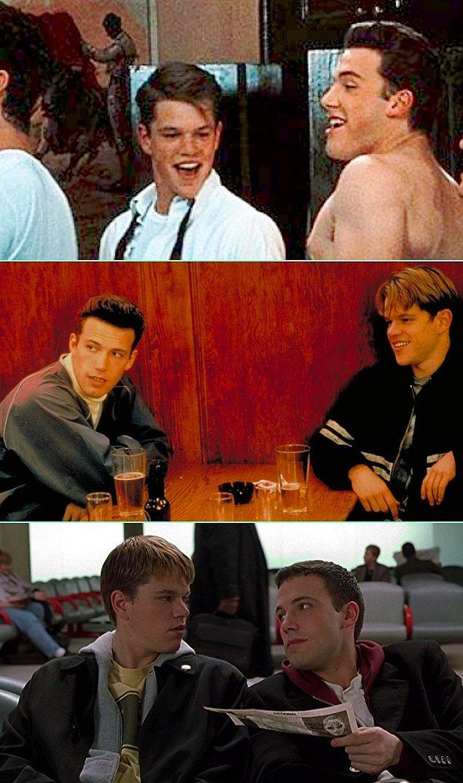 16. Ben Affleck & Matt Damon