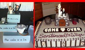 Hastalıkta ve Sağlıkta! Oyun Tutkunu Çiftlerin Düğün Pastalarını Mutlaka Görmelisin!