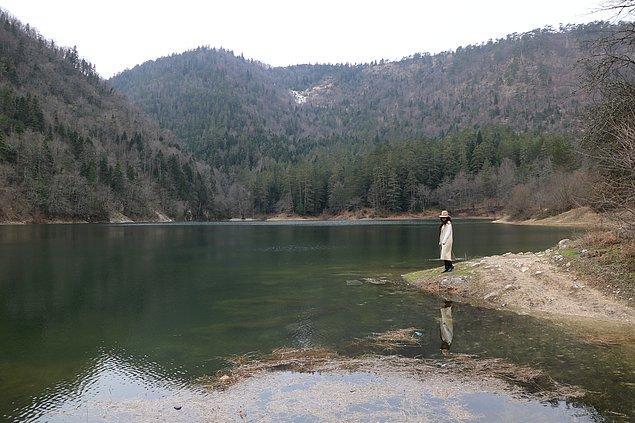 Kamp yapmayı sevenlerin uğrak noktası: Sülüklü Göl.