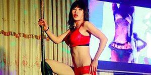 Çinlilerin Sıradışı Geleneği Cenaze Törenine Striptizci Çağırmak