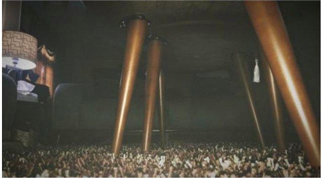 27. Son olarak, bu halı resmen konsere gelmiş bir kalabalığa benziyor! 😂