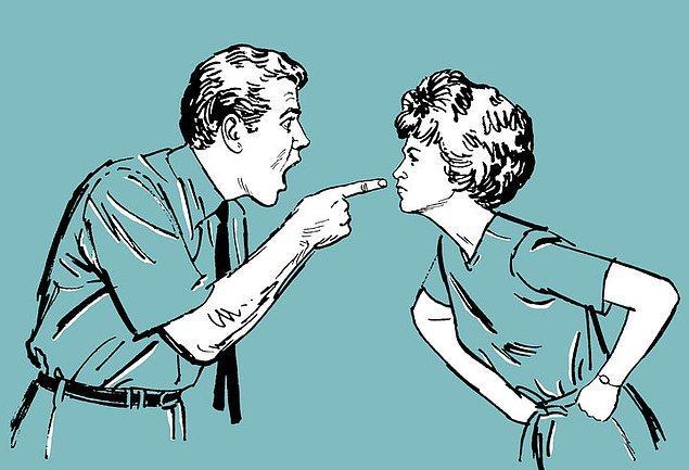 8. Geldik son sorumuza; Haksız olduğunu anladığın bir tartışma esnasında tavrın genellikle nasıl olur?