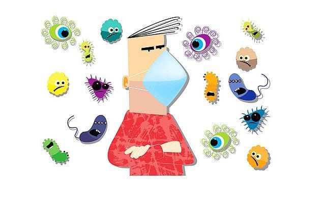14. Zayıf bağışıklık sistemleri