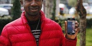 7 Dilde Hizmet Verecek: Akıllı Telefon İçin 'Atatürk' Uygulaması Geliştiren Kamerunlu Tumenta