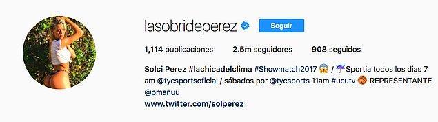 Güzel sunucunun Instagram'da 2.5 milyon takipçisi var.