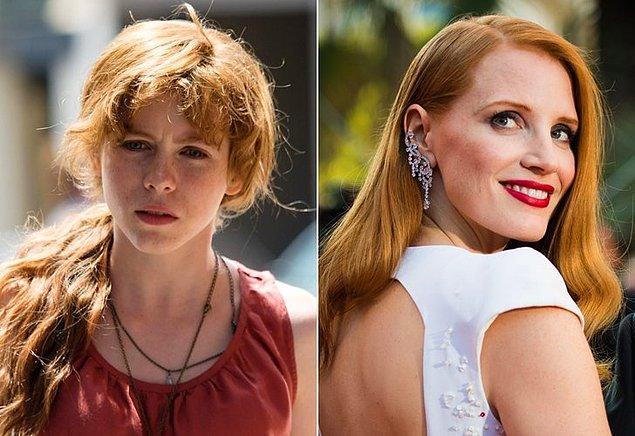 2. It: Chapter 2 filminde, Sophia Lillis'in oynadığı Beverly Marsh karkaterinin 27 yıl sonraki halini canlandırması için Jessica Chastain ile görüşülüyor.
