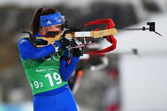 1. 1924'teki ilk oyunlardan bu yana 23 farklı dalda 282 madalya alan ABD'nin hiç kazanmadığı tek kış olimpiyatı; biatlondur.