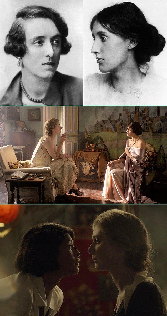 11. Yazar Virginia Woolf'un Vita Sackville-West ile olan aşkını konu edinen Vita and Virginia adlı filmden ilk kareler geldi!
