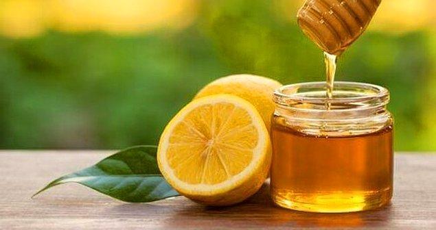 9. Araştırmanızda göreceksiniz ki, her hastalığınızı limon ve balı kombo yaparak atlatabilirsiniz.