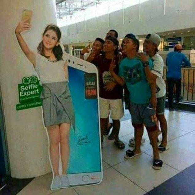 10. Toplu selfie...