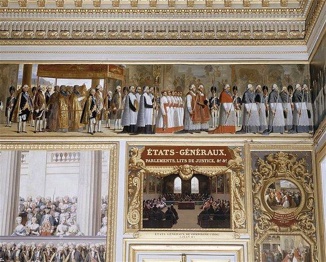 1789 başlarında état Généraux (Eta Jenegho) adlı olağanüstü danışma meclisi toplandı.