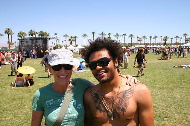 """23. """"Coachella'da Lenny Kravitz ile tanıştığımı sandığım o an..."""""""