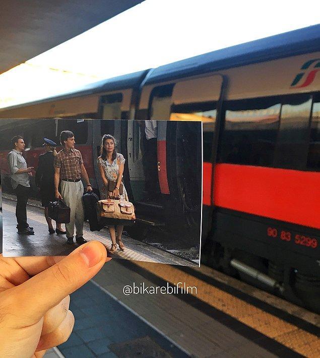 To Rome With Love (Roma Termini Tren İstasyonu)