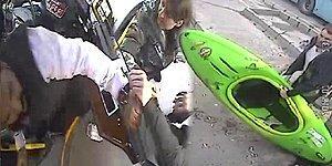 Otobüse Kanoyla Binmek İsteyenlerle Şoför Arasında Gerçekleşen Yumruklu Kavga