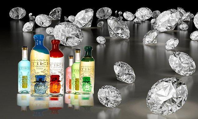 5. Meksikalı bilim insanları bir küçük bardak tekiladan mücevher elde etmeyi başardı.