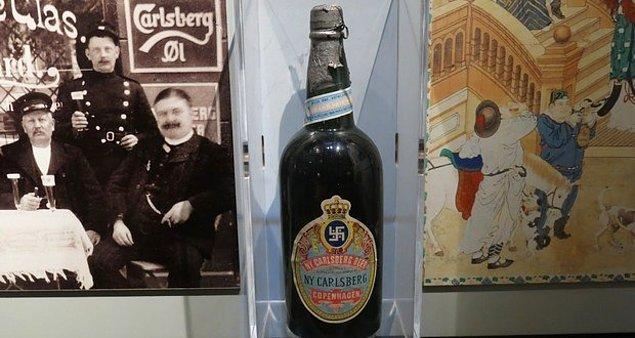 6. Carlsberg biralarının üzerinde eskiden saflığın sembolü olarak bir gamalı haç bulunuyordu.