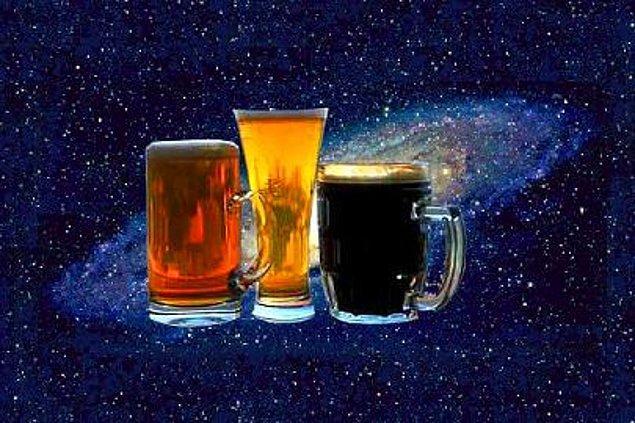 11. Gezegenimizden 10.000 ışık yılı ötede dev bir alkol bulutu olan Sagittarius B bulunuyor.