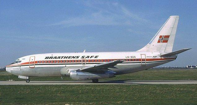 14. 1985 yılı haziran ayında, Stein Arvid Husbey adında sarhoş bir genç Norveç'te Boeing marka bir yolcu uçağını kaçırdı.