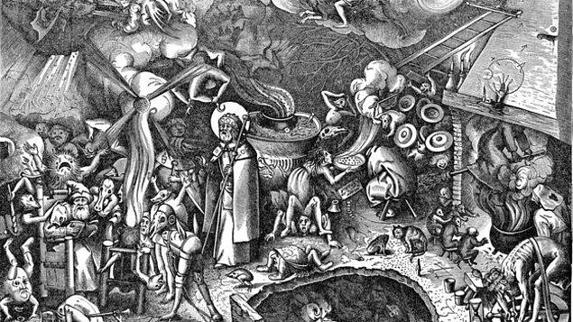 Dernek sözcüsü tarafından şeytanın belirtileri de sıralandı.