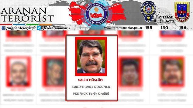 Türkiye, terör örgütü PYD'nin eski eş başkanı Salih Müslim için 13 Şubat'ta kırmızı bülten talep etmişti.