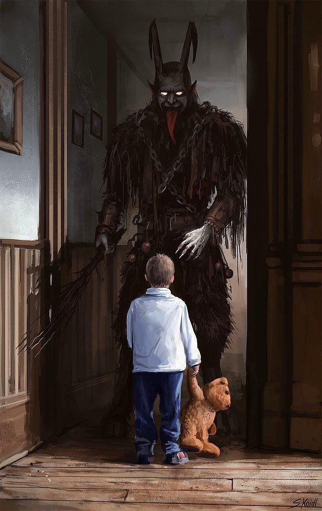 4. Sanatçı Stefan Koidl insanların korkularından ilham alıyor ve en derin korkularınıza mükemmel yeteneğiyle hayat veriyor.