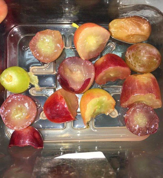 """4. """"Erkek kardeşime üzümlerimin yarısını yiyebileceğini söyledim."""""""