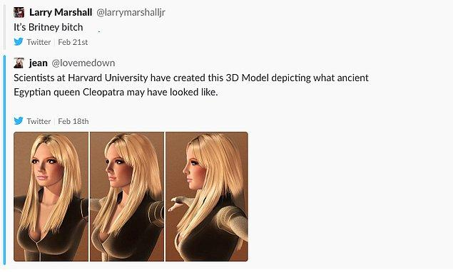 """10. Tıpkı meşhur şarkılarındaki vurgusuyla """"It's Britney, bitch"""" Resmen Britney Spears 👇"""