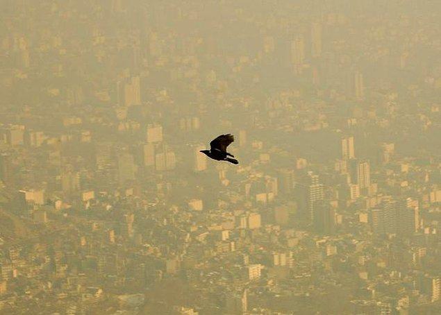 30. Tahran'da gündüz uçuşu.