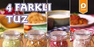 Bu Tuzların Bağımlısı Olacaksınız! 4 Farklı Tuz Nasıl Yapılır?