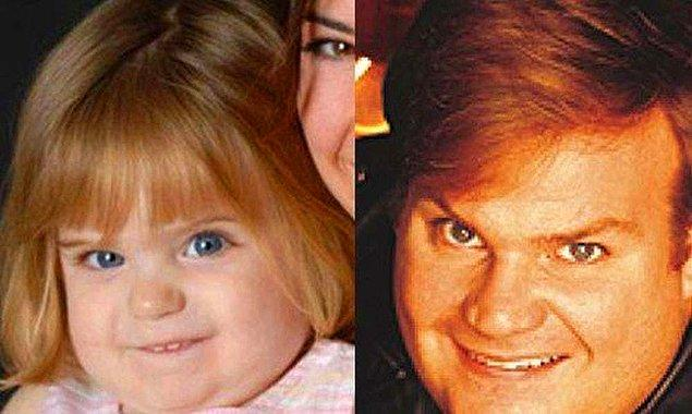 4. Chris Farley'in doğumhanede karışan minik yavrusu...