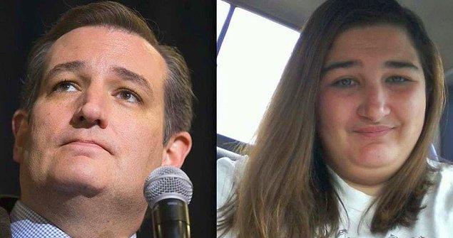"""14. Ted Cruz: """"Kızım, eve gelirken iki ekmek al."""""""