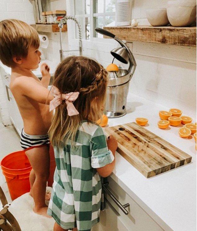 8. Hayatı çocuğunuza gümüş tablayla vermeyin.